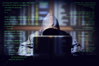 不正アクセスを試みるハッカーのイメージ