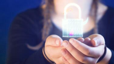 オンラインのデータを自ら守るイメージ