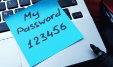 こんなパスワードを使ってはいけない