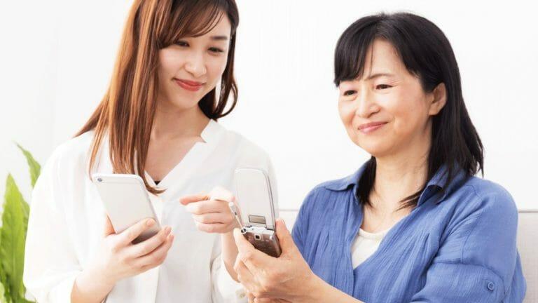 シニア・高齢者にむいたスマホはAndroidかiPhoneか?